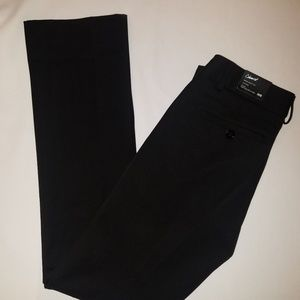 NWT: Express Work Pants Black Barely Boot Cut
